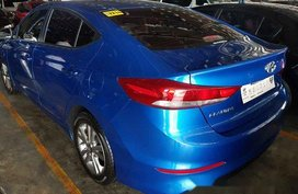 Selling Blue Hyundai Elantra 2018 in Marikina