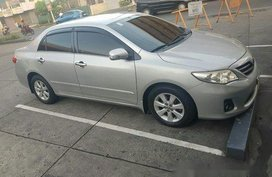 Silver Toyota Corolla altis 2011 for sale in Las Pinas