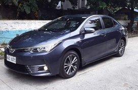 2017 Toyota Altis V A/T