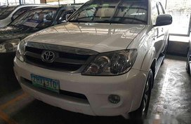 White Toyota Fortuner 2007 for sale in Marikina