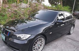 Black Bmw 320I 2007 for sale in Pasig