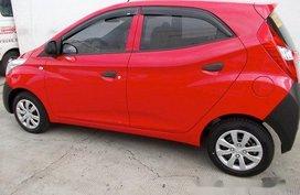 Red Hyundai Eon 2013 Manual Gasoline for sale