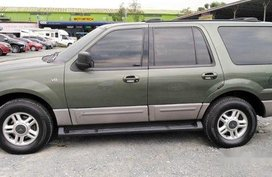 Sell Green 2003 Ford Expedition Automatic Gasoline at 86000 km