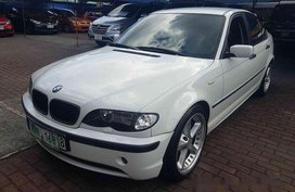 White BMW 316i 2002 for sale in Marikina