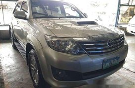 Sell Silver 2014 Toyota Fortuner in Quezon City