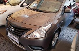 Selling Brown Nissan Almera 2018 Automatic Gasoline at 16582 km