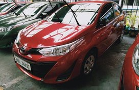 Red Toyota Vios 2019 for sale in Makati