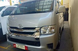 Selling Silver Toyota Hiace 2018 Automatic Diesel