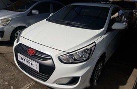 Sell White 2018 Hyundai Accent at 19000 km