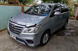 Silver Toyota Innova 2014 at 120000 km for sale