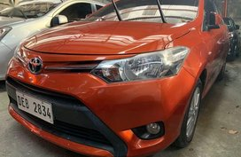 Selling Orange Toyota Vios 2016 in Quezon City
