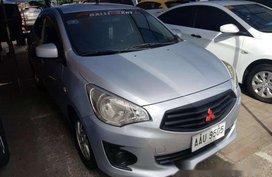 Silver Mitsubishi Mirage g4 2014 Automatic Gasoline for sale