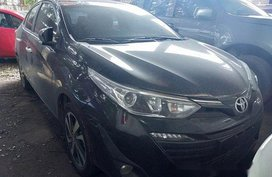 Sell Black 2018 Toyota Vios at Automatic Gasoline at 18000 km