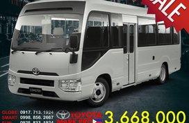 New Toyota Coaster Minibus MT