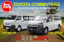 2020 New Toyota Hiace Commuter Deluxe Mega Sale