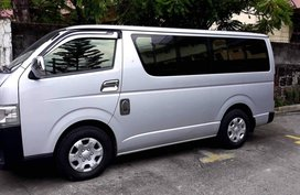2015 Toyota Commuter Manual Diesel in Quezon City