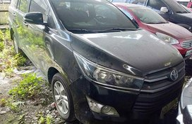 Black Toyota Innova 2016 at 79000 km for sale