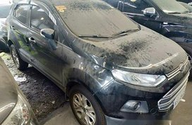 Sell Black 2017 Ford Ecosport at Automatic Gasoline at 28000 km