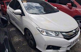 White Honda City 2016 for sale in Quezon City
