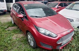 Red Ford Fiesta 2018 for sale in Quezon City