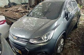 Grey Chevrolet Trax 2018 at 23000 km for sale