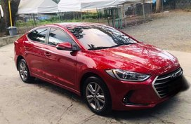 Red Hyundai Elantra 2018 for sale in Muntinlupa