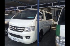 Selling Foton View Transvan 2017 Manual Diesel