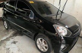 Sell Black 2019 Toyota Wigo in Quezon City