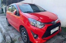 Selling Red Toyota Wigo 2019 in Quezon City