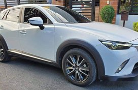 Selling White Mazda Cx-3 2017 Automatic Gasoline