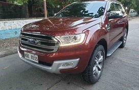 2017 Ford Everest Titanuim plus Matic with sunroof