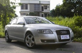Silver Audi A6 2006 for sale in Quezon City