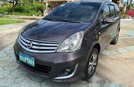 Grey Nissan Grand Livina 2012 for sale in Cebu