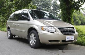 Beige Chrysler Town And Country 2006 for sale in Quezon City