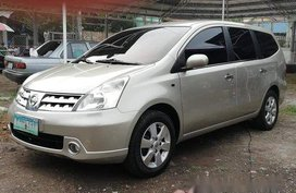 Silver Nissan Grand Livina 2009 for sale in Talisay