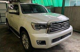White Toyota Sequoia 2020 for sale in Quezon City