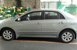 Silver Toyota Corolla Altis 2012 for sale in Manila