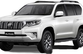 Sell White 2020 Toyota Land cruiser prado in Talisay