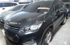 Black Chevrolet Trax 2018 for sale in Quezon City