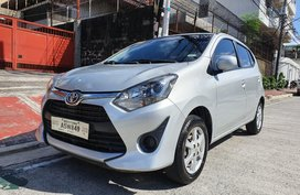 Sell Silver 2018 Toyota Wigo in Quezon City