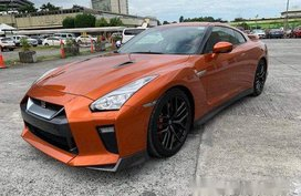 Orange Nissan Gt-R 2017 for sale in Pasig