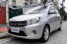 Silver Suzuki Celerio 2017 for sale in Quezon City