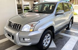 2005 Toyota Land Cruiser Prado 4x4 A/T Dubai Version (Full Options) Locally Purchased
