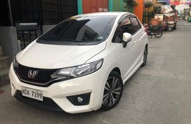 White Honda Jazz 2014 for sale in Manila