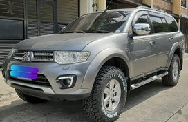 Sell Grayblack 2016 Mitsubishi Montero sport in Quezon City