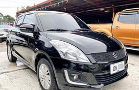 Black Suzuki Swift 2016 for sale in Mandaue