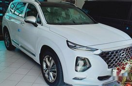 Sell White 2020 Hyundai Santa Fe in Quezon City