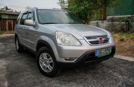 Silver Honda Cr-V 2004 for sale in Automatic