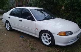 White Honda Civic 1993 for sale in Manual