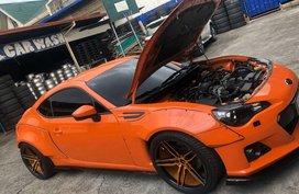Selling Orange Subaru Brz 2014 in Quezon City